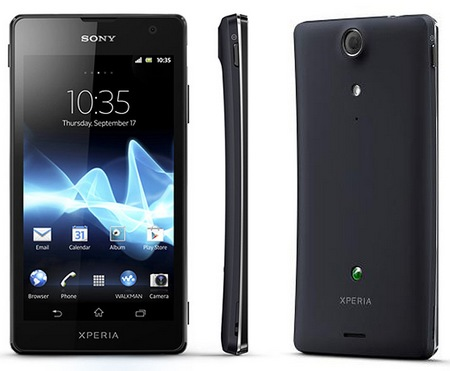 Sony Xperia GX LTE Android smartphone for japan black