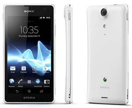 Sony Xperia GX LTE Android smartphone for japan white