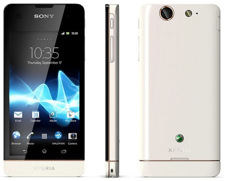 Sony Xperia SX LTE Android Smartphone for Japan white