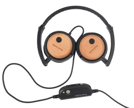 Tivoli Audio Radio Silenz Active Noise canceling Headphones cherry