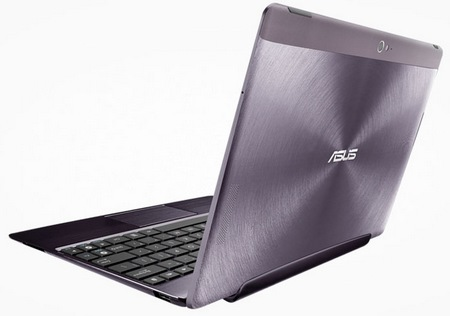 Asus Transformer Pad Infinity TF700 with Full HD IPS Touchscreen Amethyst Gray back