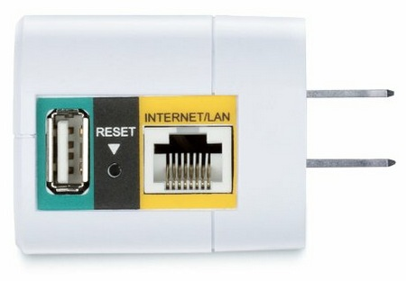 D-Link DIR-505 SharePort All-in-One Mobile Companion ports