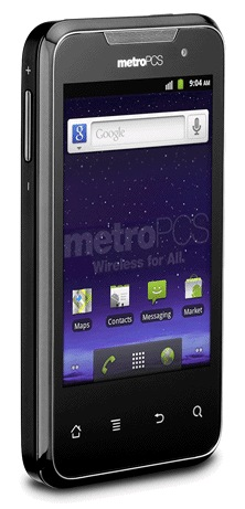 MetroPCS Huawei Activa 4G LTE Android Smartphone angle