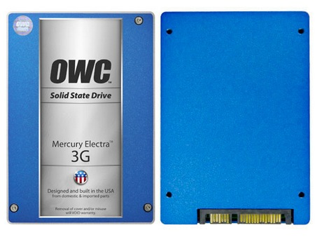 OWC Mercury Electra MAX 3G 960GB SSD front back