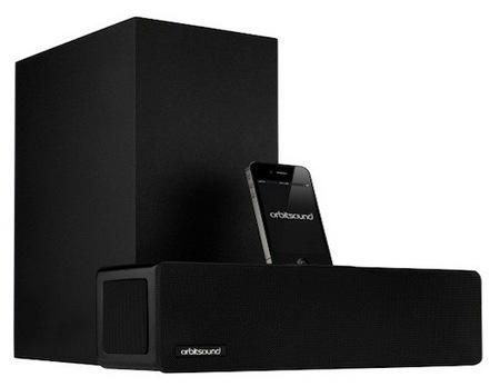 Orbitsound T9 Compact Soundbar with iPhone iPod Dock 1