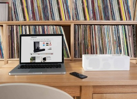 Orbitsound T9 Compact Soundbar with iPhone iPod Dock