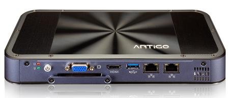 VIA ARTiGO A1200 Slim Fanless PC Kit