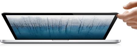 Apple MacBook Pro with Retina Display hand