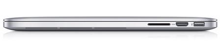 Apple MacBook Pro with Retina Display side 1