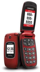 GreatCall Samsung Jitterbug Plus Clamshell Phone