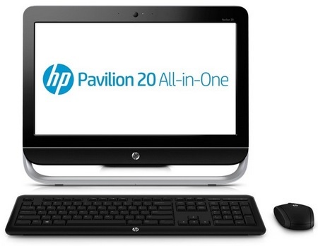 HP Pavilion 20 Budget-friendly All-in-one PC front