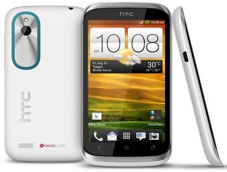 HTC Desire X Affordable Smartphone white