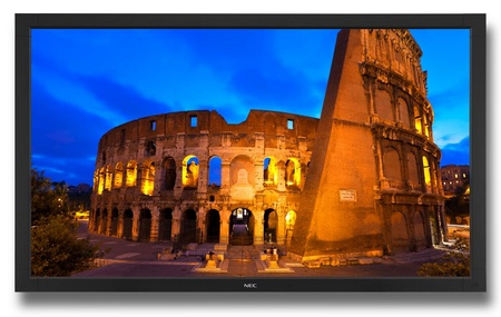 NEC V651-TM Touch-integrated Commercial LCD Display front