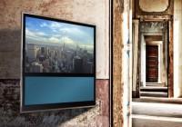 Bang & Olufsen BeoVision 11 Smart HDTV motorized wall bracket