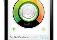 Belkin WeMo Baby iPhone Baby Monitor app