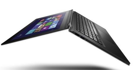 Lenovo ideapad yoga 11 and yoga 13 convertible hybrids for windows 8