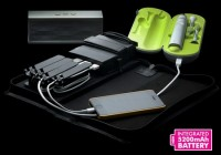 AViiQ Portable Charging Station with 5200mAh Battery Pack