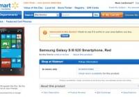 Walmart lists Nokia Lumia 920 as Samsung Galaxy S III 920