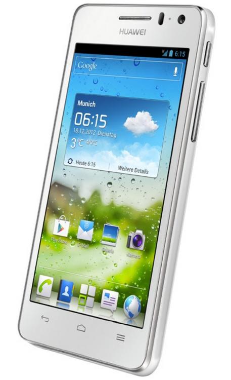 Huawei Ascend G615 Mid-range Quad-core Smartphone white