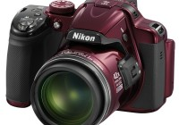 Nikon CoolPix P520 42x Ultra Zoom Camera red