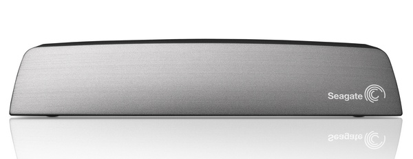 Seagate Central Shared Storage with Ethernet, DLNA and AirPlay front