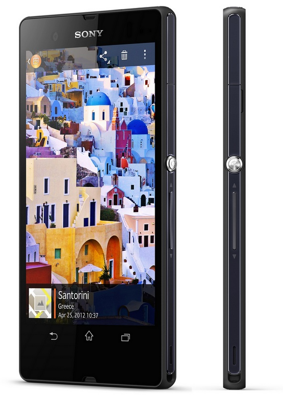 Sony Xperia Z 5-inch Full HD Android Smartphone with HDR Video side