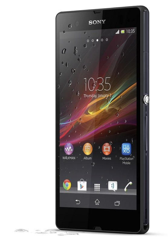 Sony Xperia Z 5-inch Full HD Android Smartphone with HDR Video waterproof