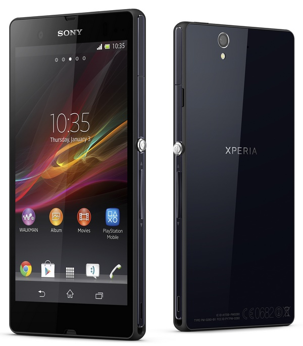 Sony Xperia Z 5-inch Full HD Android Smartphone with HDR Video