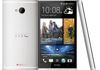 HTC One Android Smartphon silver white