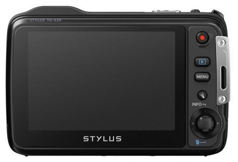 Olympus STYLUS TOUGH TG-630 iHS rugged camera back