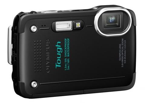 Olympus STYLUS TOUGH TG-630 iHS rugged camera black