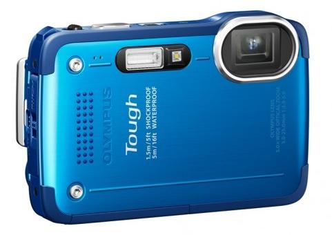 Olympus STYLUS TOUGH TG-630 iHS rugged camera blue