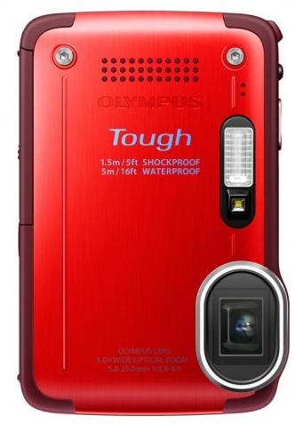 Olympus STYLUS TOUGH TG-630 iHS rugged camera red