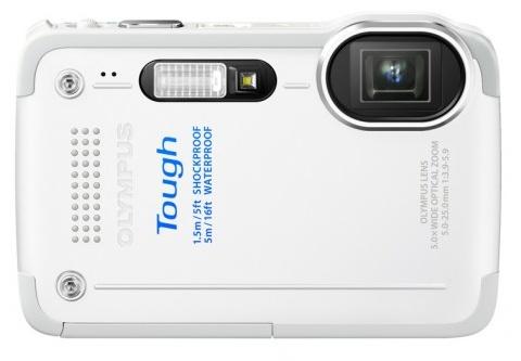 Olympus STYLUS TOUGH TG-630 iHS rugged camera white