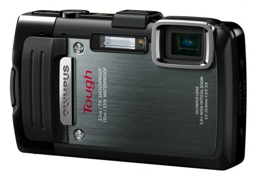 Olympus STYLUS TOUGH TG-830 iHS rugged camera black
