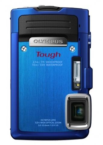 Olympus STYLUS TOUGH TG-830 iHS rugged camera blue