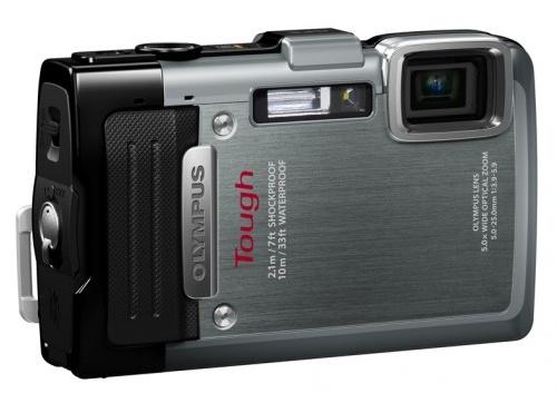 Olympus STYLUS TOUGH TG-830 iHS rugged camera silver