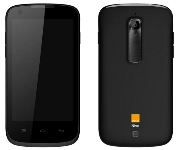 Orange Nivo affordable Android smartphone