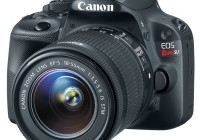 Canon EOS Rebel SL1 is the World's Smallest and Lightest DSLR angle