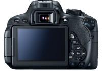Canon EOS Rebel T5i DSLR Camera back
