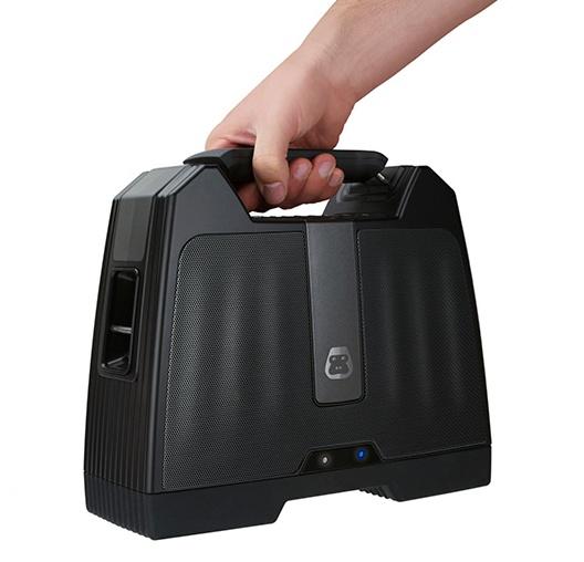G-Project G-BOOM Bluetooth Boombox handheld