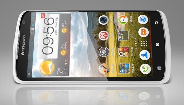 Lenovo S920 5.3-inch Quad-core Smartphone front landscape