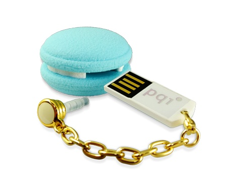 PQI Macaron USB Flash Drive blue