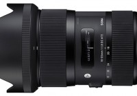 Sigma 18-35mm F1.8 DC HSM Lens offers F.18 throughout Zoom Range