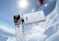 Sony Handycam HDR-GW66VE Rugged Pocket Full HD Camcorder white