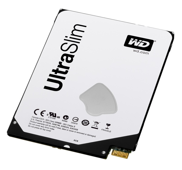 WD Blue and Black 2.5-inch 5mm Ultra Slim Hard Drives angle 1
