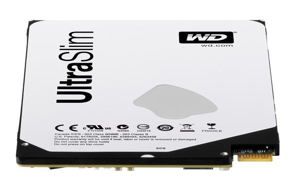 WD Blue and Black 2.5-inch 5mm Ultra Slim Hard Drives edge
