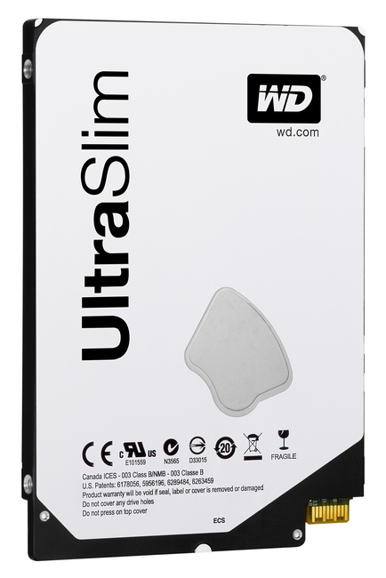 WD Blue and Black 2.5-inch 5mm Ultra Slim Hard Drives