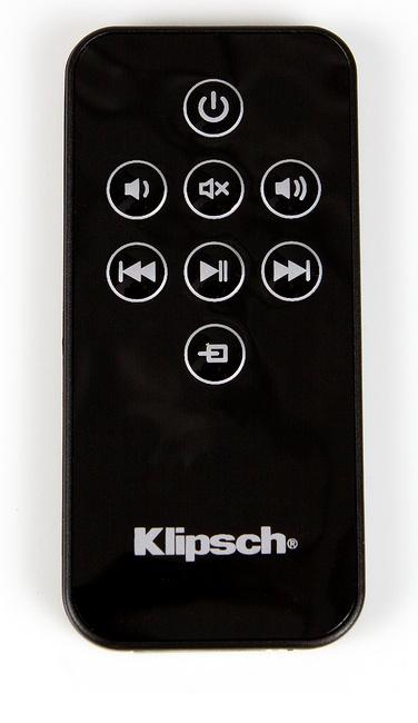 Klipsch Music Center KMC3 Wireless Music System remote