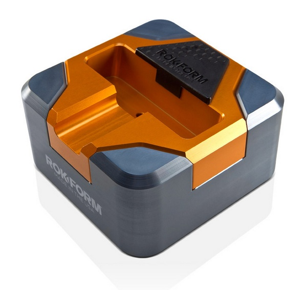 Rokform RokDock Stand for Galaxy S2 S3 S4 gun metal orange